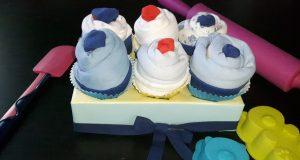 Cup cake con body e calzini