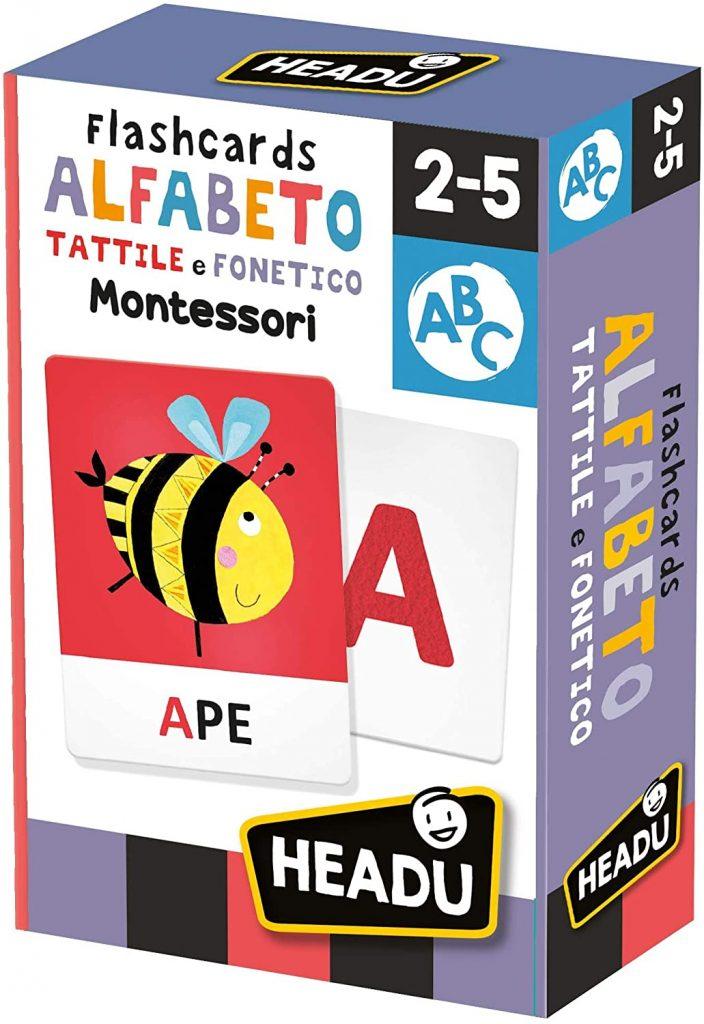 flash card alfabeto