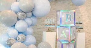 migliori decorazioni baby shower